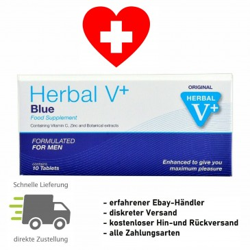 Herbal S Max 100 für Männer, Potenzmittel Nahrungsergänzung