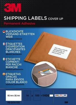 3M Versand-Etiketten für Laser, Kopierer 99.1 x 38.1 mm 1400 Etiketten