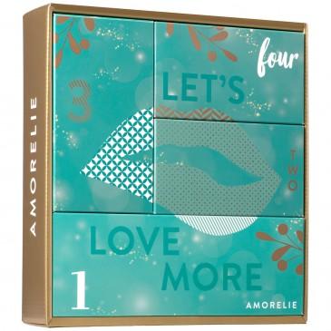 AMORELIE Adventsbox Paare,4 Überraschungen für jeden Advent, Adventskalender