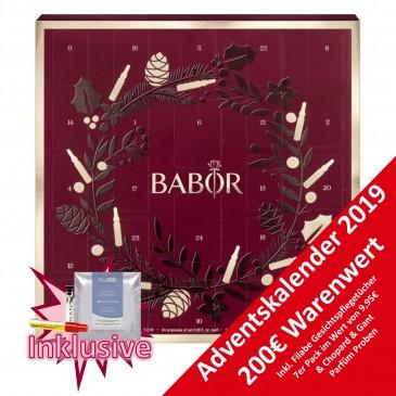BABOR Gesichtspflege Adventskalender 2019 für Damen, Wert 200 €