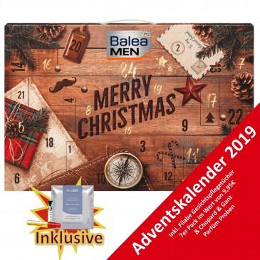 Balea Men Adventskalender 2019, Männerkalender, Wert 80€