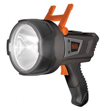 Black und Decker SLV3 LED Kompakt Stableuchte, 600 Lumen