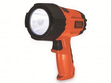 Black und Decker SLV5 LED Kompakt Taschenlampe, 325 Lumen