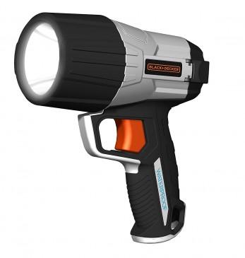 Black und Decker SLV4 LED Kompakt Taschenlampe, 500 Lumen