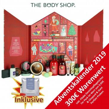 The Body Shop Deluxe Damen Adventskalender 2019, Wert 300 €