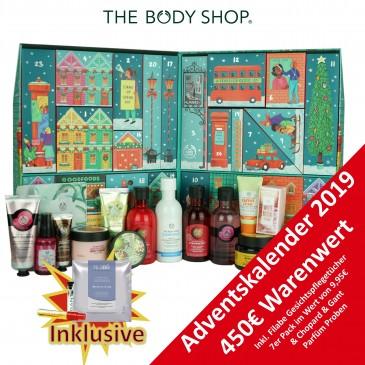The Body Shop Ultimate Damen Adventskalender 2019, Wert 450 €