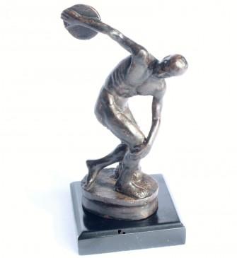 """Myron """"Der Diskuswerfer"""" Bronze Skulptur"""