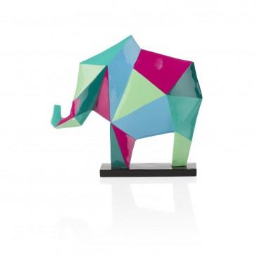 """CocoMaison """"Elefant"""" Statue / Skulptur, Musikinstrument 36x8,5x37 cm"""