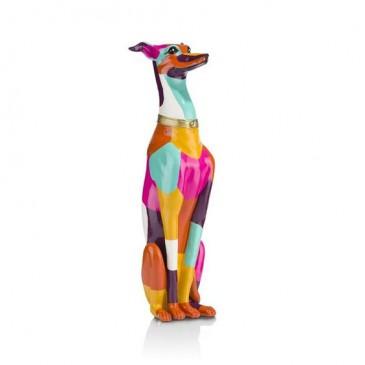 "CocoMaison ""Sitzender Hund"" Statue / Skulptur, Hundefigur 66x17x14 cm"