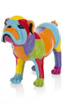 """CocoMaison """"Dogge"""" Statue / Skulptur, Hundefigur 45x13x32,5 cm"""