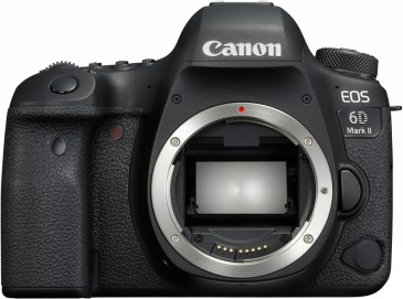 Canon EOS 6D Mark II 26.2M Body Digitalkamera, Schwarz