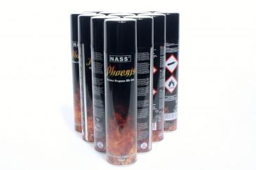 6 Stk. 300ml Universal Feuerzeuggas