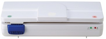 VacuPack Folienschweißgerät / Vakuumierer mit Datumprägestempel, weiss