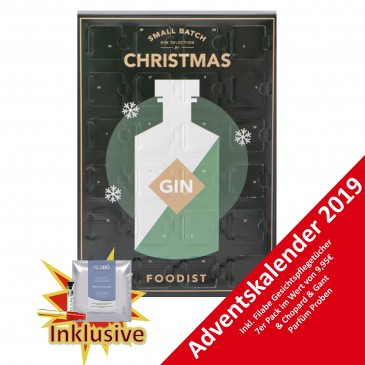 FOODIST GIN Adventskalender 2019,24x50ml