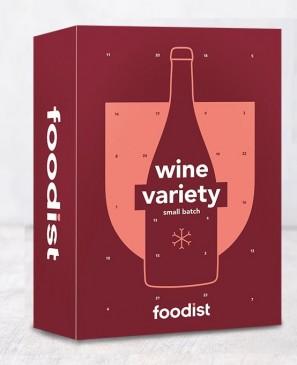 FOODIST Wein Adventskalender 2020, 24x 100ml Weinflaschen