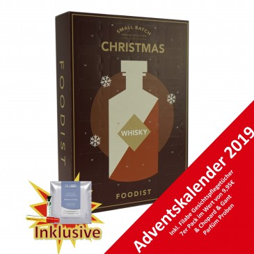 FOODIST Whisky Adventskalender 2019,24x50ml
