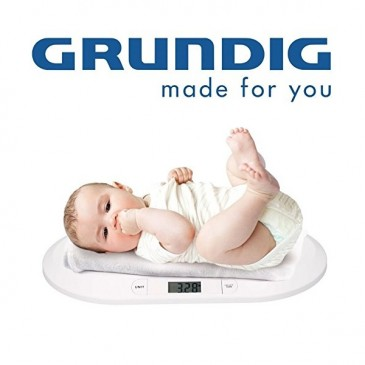 Grundig BW219 Digitale Babywaage Kinderwaage, bis 20kg