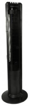 Säulenventilator 108cm 3 Stufen, schwarz mit Fernbedienung