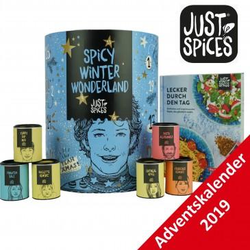 Just Spices Gewürz Adventskalender 2019 + Kochbuch, Wert 275 €