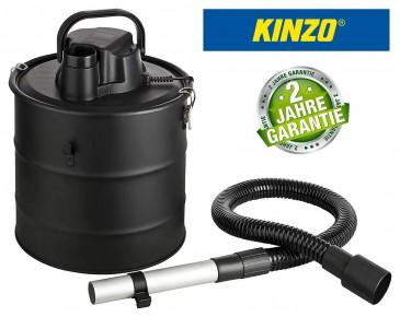 Kinzo K0411 Aschesauger Kaminsauger + Gebläsefunktion, 18L