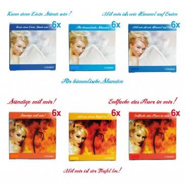 Devil Kondome mit Sprüchen, 100 Stk