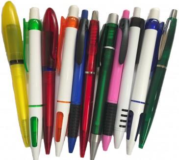 1000 Kugelschreiber, sortenrein in diversen Farben