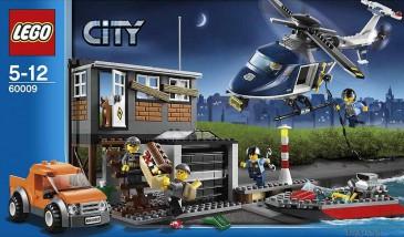 LEGO® City 60009 Polizei-Hubschrauber & Räuberversteck