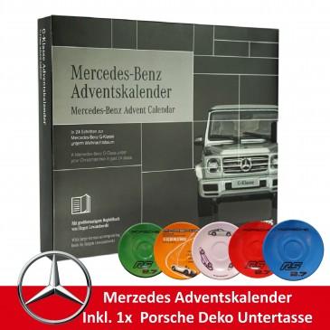 Mercedes G Klasse Adventskalender 2019 - Für Sammler, Wert 169 €