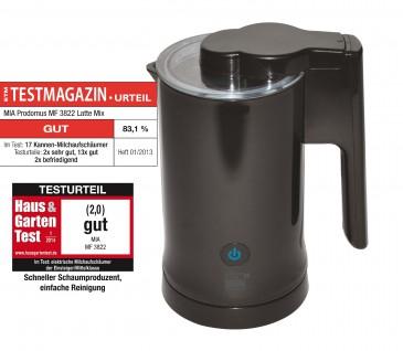 MilkTwister Elektrischer Milchaufschäumer / Milcherwärmer, kabellos
