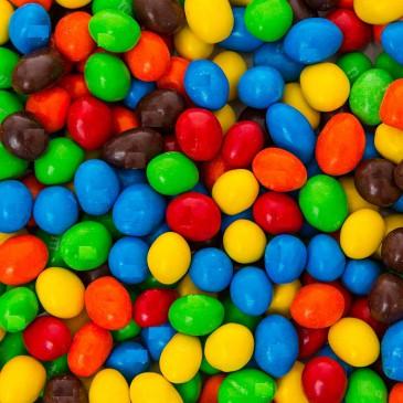M&Ms Peanut Schokolade 5 kg Beutel Ausschuss Bruch, B Ware
