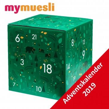 My Muesli 2go Adventskalender, 24 Müsli Kalender Damen und Herren