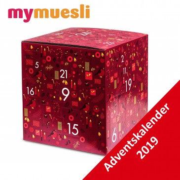 My Muesli Deluxe Adventskalender, Müsli Kalender Damen und Herren