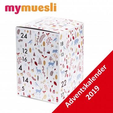 My Muesli Müsliriegel Adventskalender, 24 BIO Riegel, Damen und Herren