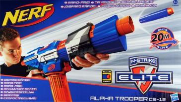 Nerf N-STRIKE Alpha Trooper CS-12 Gewehr