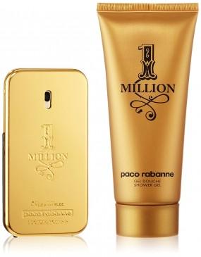 Paco Rabanne One Million Geschenkset 50ml Eau de Toilette Spray + 100ml Duschgel