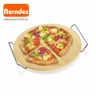 Berndes 502028 Pizzastein / Brotbackstein 33x34 cm, inkl. Chromgestell