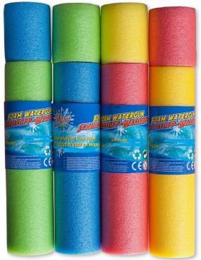 XXL Poolkanone Wasserspritze 54cm/Ø 7 cm, 4 Stück