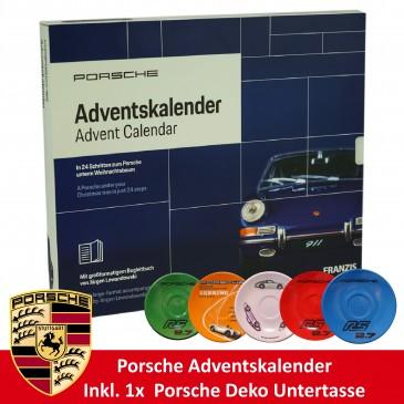 Porsche 911 Adventskalender 2019 , Für Sammler,inkl Porsche Untertasse
