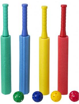 XXL Poolkanone Wasserspritze 60cm/Ø 6,5 cm, mit Ball, 4 Stück