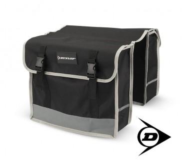 Dunlop FGT19 Doppel-Fahrradtasche Gepäckträgertasche Rahmen, 29 L