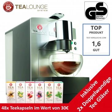 TEEKANNE Pro Edition Kapselmaschine für Tee und Kaffee,inkl. 48 Kapsel