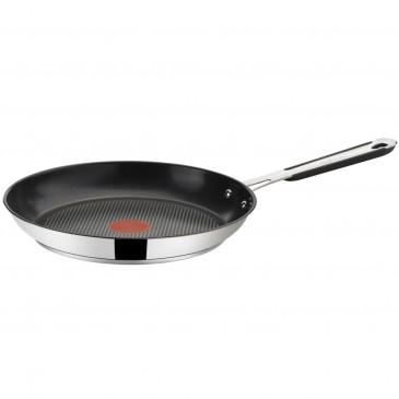 Tefal E85708 Jamie Oliver Edelstahl Pfanne Induktionsgeeignet ,28 cm