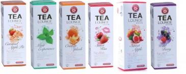 TEEKANNE Tealounge Früchtetee Kapseln, 96 Kapsel - 6 Sorten