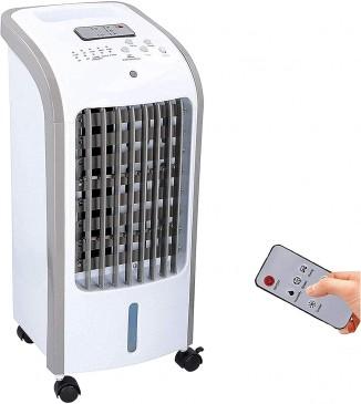 JUNG COMMODO mobiles Klimagerät mit Wasserkühlung, TÜV geprüft, inkl. Fernbedienung + Timer, Mobile