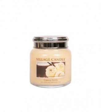 Village Candle Dolce Delight Duftkerze im Glas 389 Gramm, Brenndauer 105Std, Raumkerze, Kerze