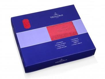 Villeroy&Boch Handtücher rot im 4er Set