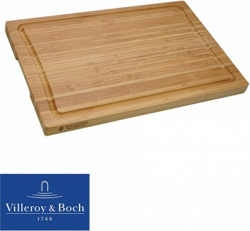 Villeroy&Boch Bambus Schneidebrett, 39.5 x 26 x 2cm